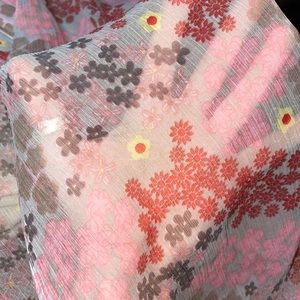 Bijoux Terner Pareo Scarf Wrap Cover Up Floral